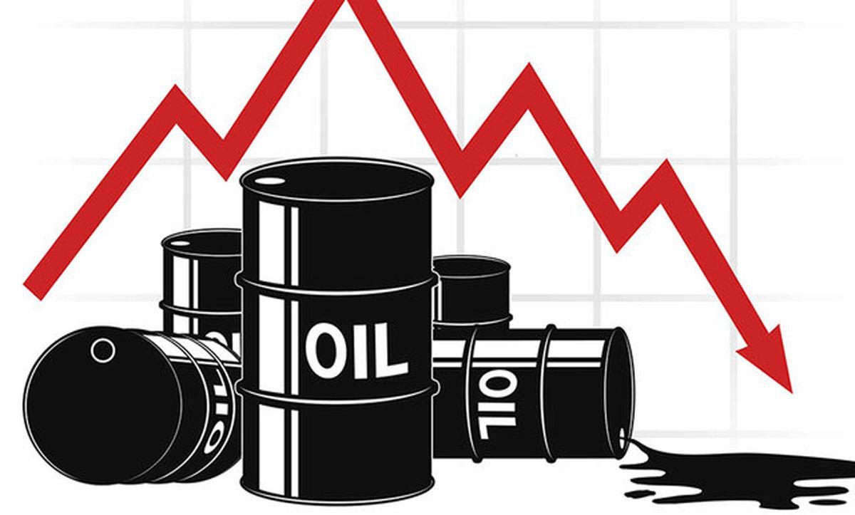 نفت در پی احیا شدن میزان بیشتری از تولید خلیج مکزیکوی آمریکا سقوط کرد