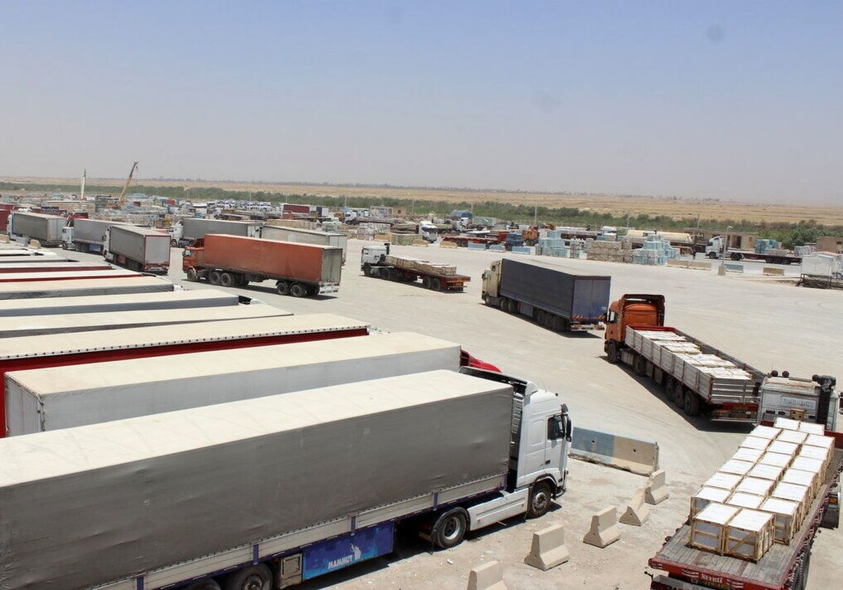 صادرات کالا به افغانستان از پایانه دوغارون ۲۶۰ درصد افزایش یافته است
