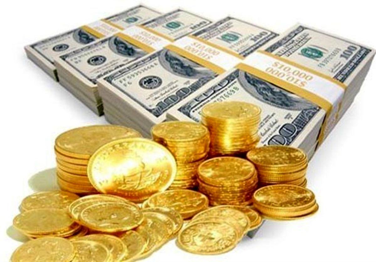 قیمت طلا، سکه و ارز امروز ۹۹/۱۰/۲۳