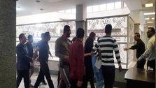 نخستین تصویر از نجفی در لباس بازداشت
