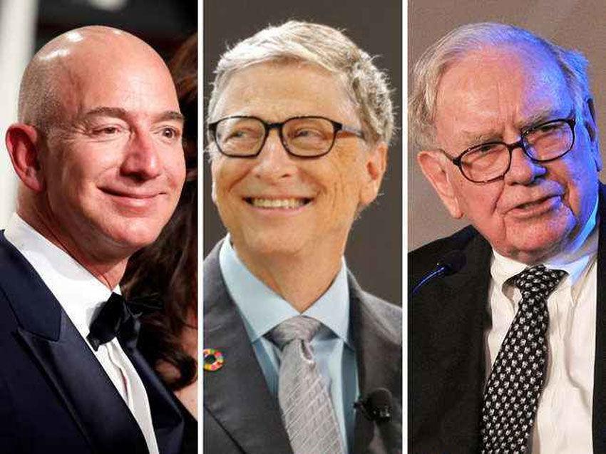 فهرست جدید ثروتمندان جهان