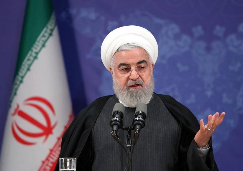 روحانی: توقیف کشتی های ایرانی در آبهای بین المللی دروغ است