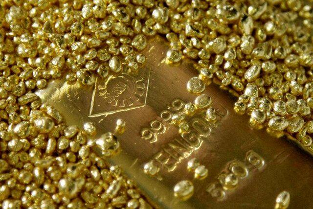 قیمت جهانی طلا امروز ۹۸/۱۰/۲۵