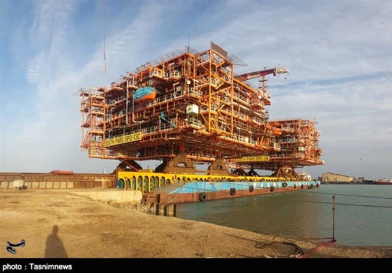 تحقق تولید ۵۶ میلیون مترمکعبی گاز از فاز ۱۳ پارس جنوبی در اسفند ۹۸