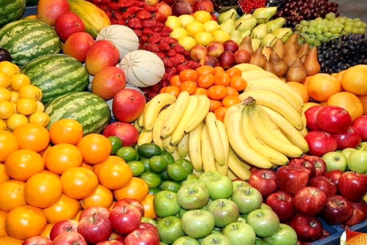 آخرین قیمت میوه و تره بار در بازار