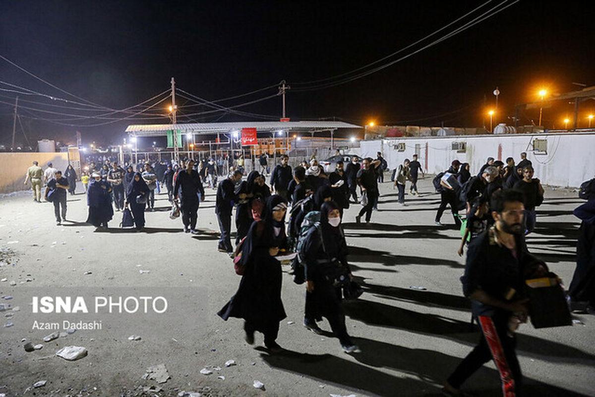 جزئیات بازگشت زمینی زائران اربعین از مهران