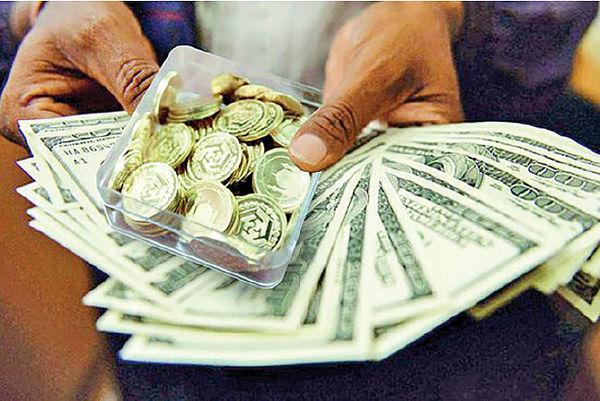 قیمت ارز و سکه در بازار امروز تهران