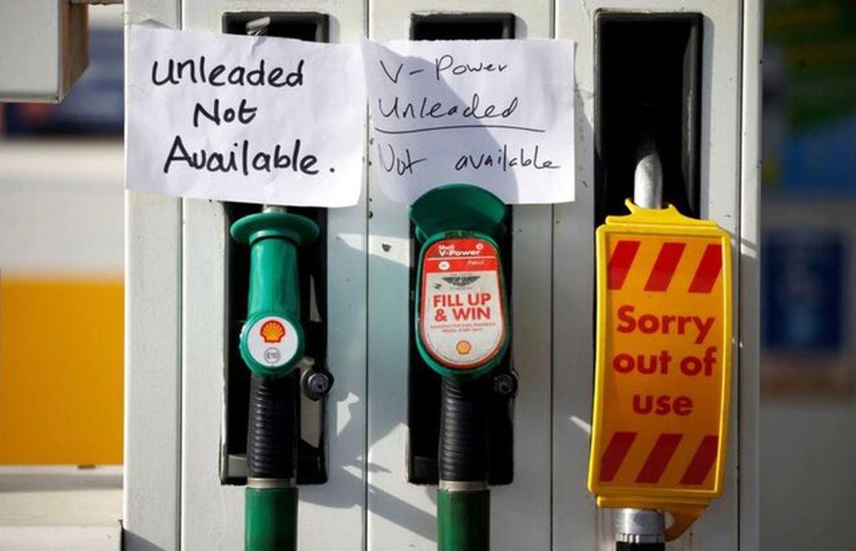 کمبود راننده کامیون در انگلیس سوخت را سهمیهبندی کرد