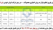 آغاز فروش فوری سه محصول ایران خودرو
