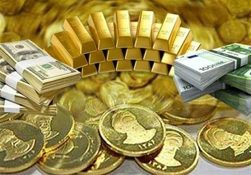 قیمت طلا، سکه و ارز امروز ۹۹/۰۸/۱۹