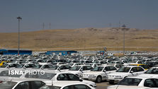تخلیه ماشینهای صفر کیلومتر و بدون پلاک از پارکینگها
