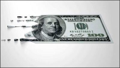 دلار روی ریل نزولی