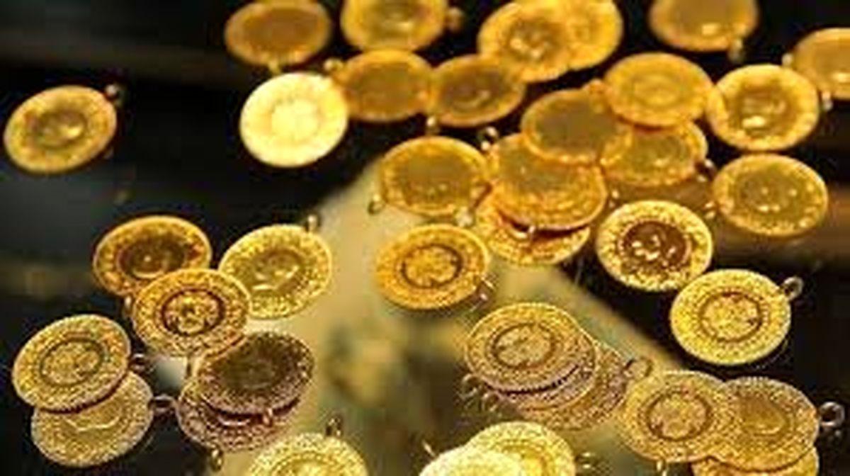 قیمت سکه و طلا از مسیر صعود دور زد و کاهشی شد