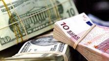 افزایش نرخ رسمی یورو و پوند