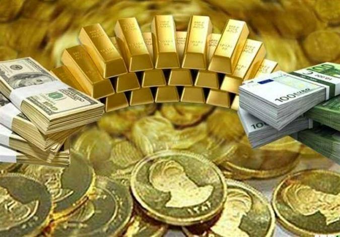 قیمت طلا، قیمت دلار، قیمت سکه و قیمت ارز امروز ۹۸/۰۹/۱۰