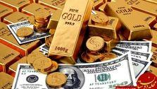 صعود ارزش دلار و طلا در بازار
