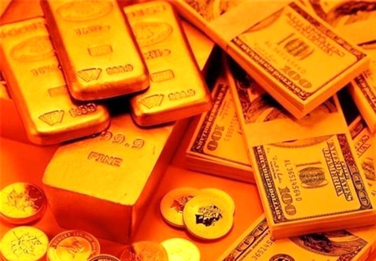 قیمت طلا، قیمت دلار، قیمت سکه و قیمت ارز امروز ۹۹/۰۲/۰۹ صرافیهای بانکی قیمت دلار را کم کردند