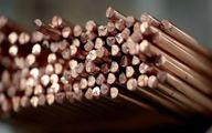 تولید معدنی جهانی مس در نیمه اول سال میلادی جاری ۴.۹ درصد رشد کرد