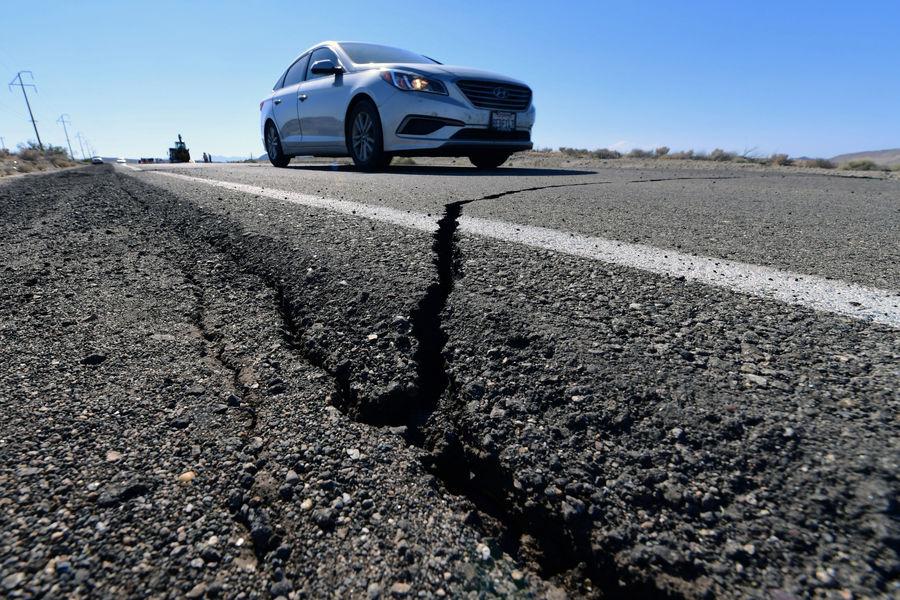 زلزله بىسابقه در کالیفرنیا