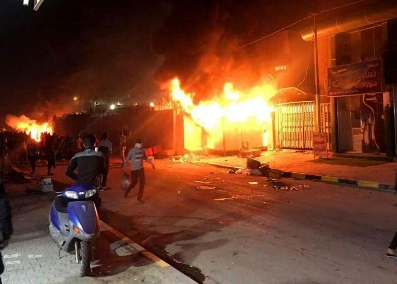 هدف حمله به کنسولگری ایران در نجف اعلام شد